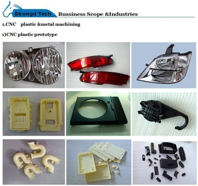 Turning Machine Parts Stainless steel Rapid Prototyping Process