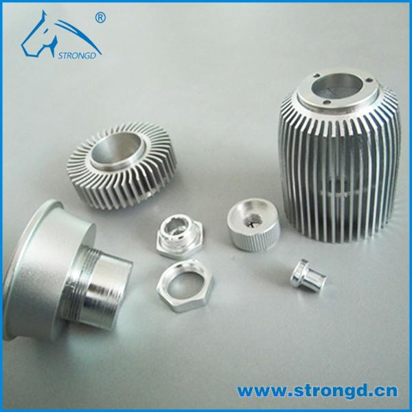 Heat Sink Appearance Stainless Steel Metal Rapid Prototyping Precision CNC Machining